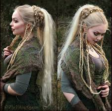 Viking Hairstyle Female viking braided hairstyle viking celtic medieval elven 6600 by wearticles.com