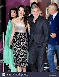 London, UK. 15th May, 2019. Amal Clooney, George Clooney attend Catch 22 TV  premiere & photocall at Vue Westfield Credit: Nils Jorgensen/Alamy Live News  Stock Photo - Alamy