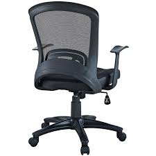 office chair back. Marcel Ergonomic Modern Office Chair - Back View P