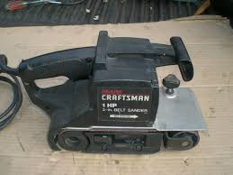 craftsman belt and disc sander. 2 craftsman belt and disc sander