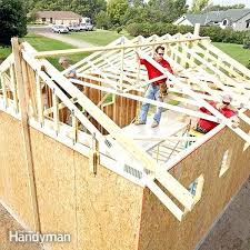 framing a garage door opening how to build a garage garage door framing detail