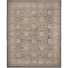 safavieh sofia light grey beige 8 ft x 11 ft area rug