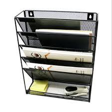 china mesh wall file holder 5 tier