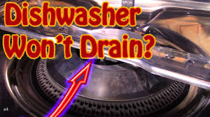 How To Repair Dishwasher Diy How To Repair A Maytag Dishwasher That Wont Drain Slow