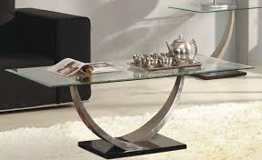 fresh glass and chrome coffee table and glass coffee tables look so pretty thedigitalhandshake furniture