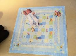 Hand Made Quilting » Bespoke, high quality hand made English Quilting & Baby floor quilt with play loops Adamdwight.com