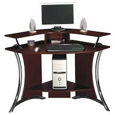 compact corner computer desk piranha pc8g compact corner computer desk with 3 shelves corner computer desk
