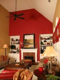Red Accent Wall Design, Pictures, Remodel, Decor and Ideas - page 17
