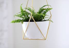 Nalle House Diy Brass Himmeli Hanging Planter