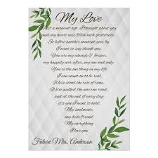 Letters To My Future Husband Love Elegant Luxury Poster
