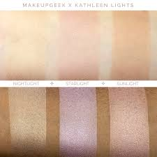 kathleen lights highlighter palette
