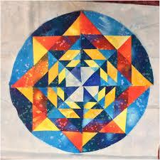 17 best Mandala quilts images on Pinterest | Mandalas, Bedspreads ... & The (Almost) Fractal Mandala – Block Fourteen, Round the Year Quilt Adamdwight.com