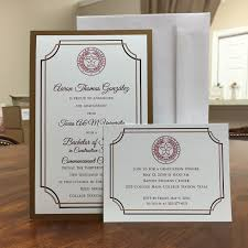Formal College Graduation Announcements Formal College Graduation Invitations Beyin Brianstern Co