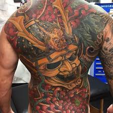 35 Oni Mask Tattoos With Mysterious And Powerful Meanings Tattoos Win
