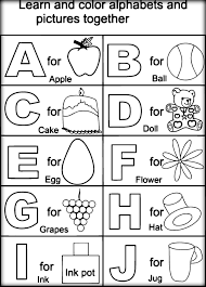 Free Educational Coloring Pages For Preschoolers 2085