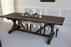 homemade kitchen table homemade table farmhouse table top building a table