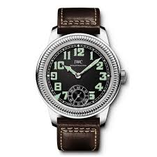 mens watches from berry s jewellers vintage pilots handwound black dial men s strap watch