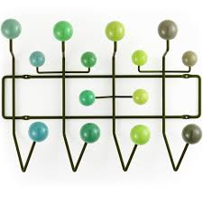 Eames Hang It All Coat Rack Eames Hang it All coat rack green 32