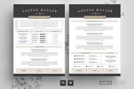Modern Resume Template 2013 Resume Templates Modern Resume Template Psd Ms Word
