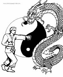 Small Picture 45 best Karate Color Pages images on Pinterest Coloring sheets