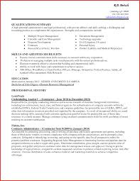 Fresh Administrative Resume Skills Personal Leave