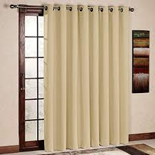 rhf wide thermal blackout patio door curtain panel sliding insulated curtainsthermal curtains patio door blackout curtains w64 curtains