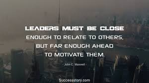 Motivational Leadership Quotes Fascinating 48 Inspirational Leadership Quotes Success Story