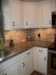 kitchen backsplash white cabinets brown countertop. White Kitchen Cabinets Baltic Brown Granite Countertop Tile Backsplash Modern Ideas K