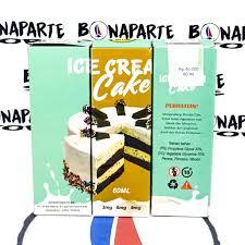 Ice Cream Cake Liquid Shopee Indonesia