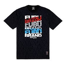 Fubu Design T Shirt Fubu Boys Teens New York Tee In Black