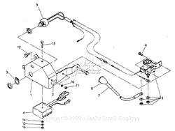 robin subaru w1 340 parts diagram for magneto solid state ignition control box switches regulator