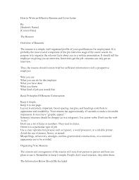 Write Effective Cover Letter Nardellidesign Com