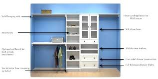 closet kit wood organizer kits brilliant organizers with drawers white wood closet organizer