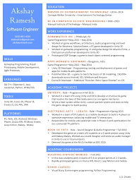 Game Developer Resume Resume Akshay Ramesh 7