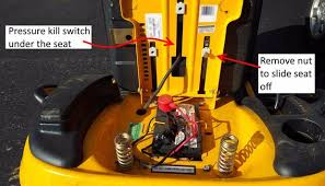 disable the kill switch on a riding mower step 1 where is the safety switch