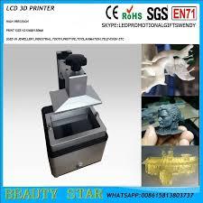 2017 new sla 3d printer kld 1260 high precision dental jewelry lcd light curve