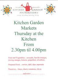 Kitchen Garden Foundation Kitchen Garden Markets This Thursday Margaret River Primary School