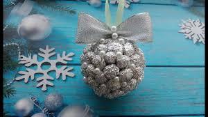 Новогодний <b>шар на елку</b> из фольги / Christmas ball of foil ...