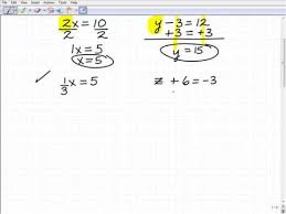 how to solve basic equations first step to understand algebra  how to solve basic equations first step to understand algebra