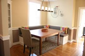 dining room banquette seating booth kitchen table inspirational modern dining room table with of dining room