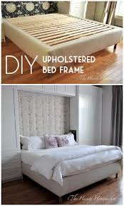 diy king bed frame. Check Out The Tutorial On How To Make A #DIY Upholstered King Size Bed Frame Diy T