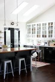 white and black kitchen cabinets. Beautiful And Black With Glass To White And Kitchen Cabinets A