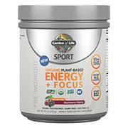 Garden of Life <b>Sport Organic Plant</b>‑<b>Based Energy</b> + Focus Sugar ...