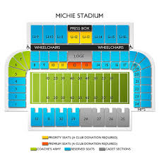 Michie Stadium 2019 Seating Chart