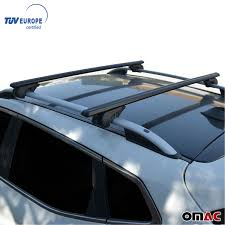 Volvo Xc70 Light Bar Details About Roof Rack Cross Bars Luggage Carrier Black For Volvo Xc70 2008 2010