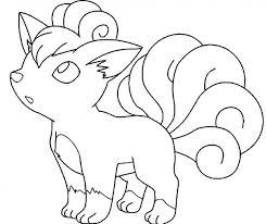 Disegno Di Vulpix Di Brock Da Colorare Gratis Pokemon