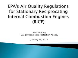 Ppt Epas Air Quality Regulations For Stationary