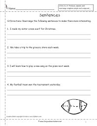 Kindergarten Writing Sentences Worksheets Download Them And Try To ...