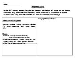 macbeth argumentative essay mla writing outline essay prompts  macbeth argumentative essay mla