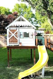 free playhouse plans that children diy build backyard